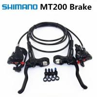 Гальма Shimano MT200 дискова гідравліка