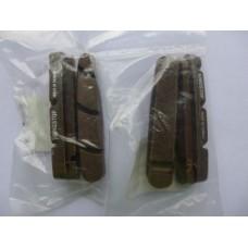 Колодки для картриджних шосейних гальм Shimano (карбон)
